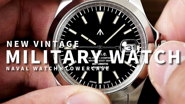 NAVAL WATCH produced by LOWERCASE