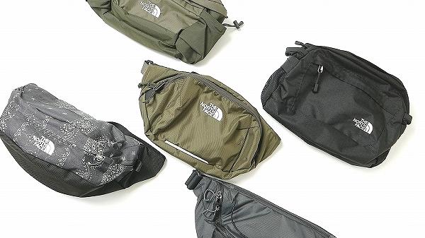 【おすすめ5選】本当に使いやすいノースフェイスのウエストバッグはコレだ!