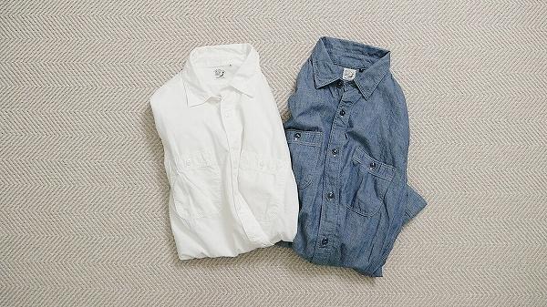 orSlow (オアスロウ)シャンブレーシャツ